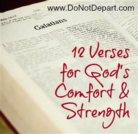 verses for comfort and strength 12 verses for god s comfort strength via donotdepart