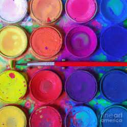 painting colours messy paints photograph by carlos caetano