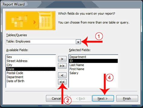 how to create a report as a table in excel creating microsoft access reports