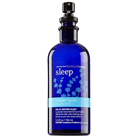 Sprei Sleep Bath And Works Aromatherapy Sleep Lavender Vanilla