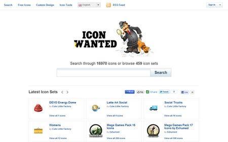 iconwanted: un buscador de íconos gratuitos para tener en