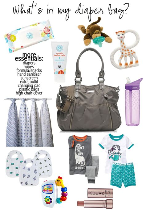 Neutral Bathroom Colors Diaper Bag Essentials With The Average Girls Guide