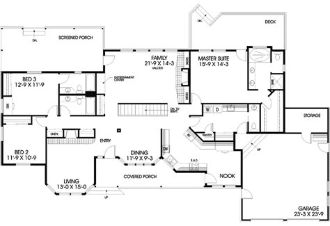 home bunker plans bunker hill ranch home plan 085d 0402 house plans and more