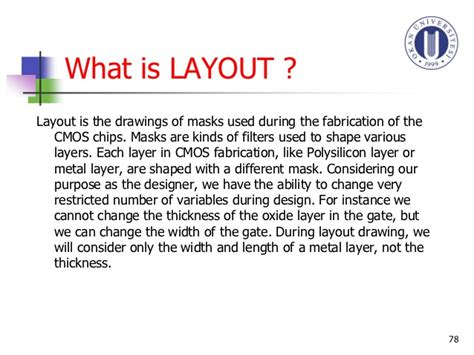 what is layout design in vlsi vlsi cadence tutorial ahmet ilker şin