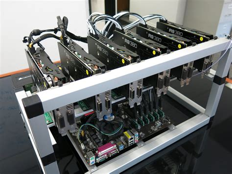 Gpu Mining Rack by Rt Mining Rig Set 7 Gpu Setup With Rack Revoluzion