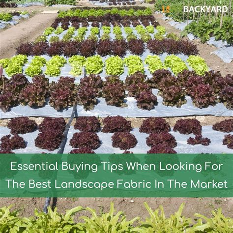 best landscape fabric outdoor goods
