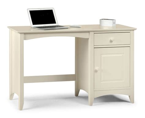 White Company Desk by M Rida Shaker Style White Lacquered Desk Jb125
