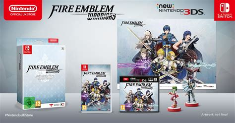 Sale Nintendo Switch Emblem Warriors Limited Edition emblem warriors la limited edition e gli amiibo in preorder sul nintendo uk store