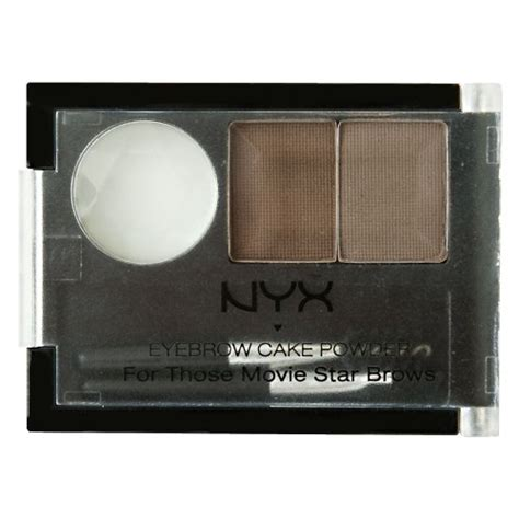 Nyx Brow Powder nyx eyebrow cake powder taupe ash mayanka make up
