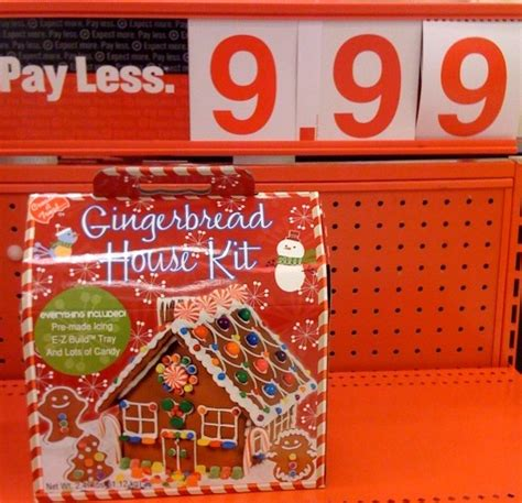 Target Gingerbread House Kit Gingerbread Fun