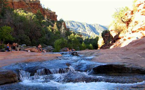 park rock feeling like a kid again in slide rock state park sedona arizona exploration
