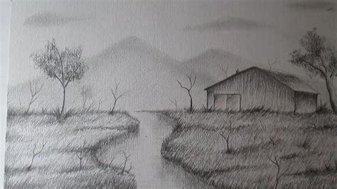 imagenes de paisajes que se puedan dibujar c 243 mo dibujar un sencillo paisaje a l 225 piz paso a paso bien