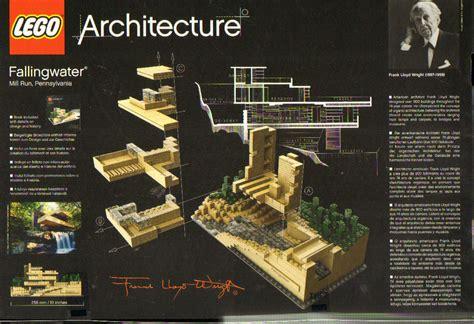 Toys Lego Architecture Fallingwater 21005 lego 21005 architecture fallingwater leichte lagerspuren