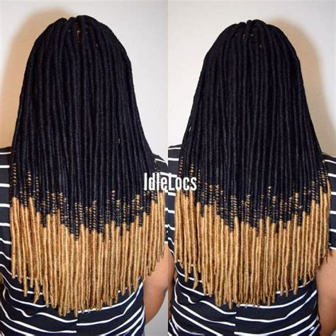 hiw to do ombre faux locs 40 fabulous funky ways to pull off faux locs