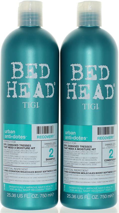 how to fix bed head amazon com tigi bed head resurrection shoo