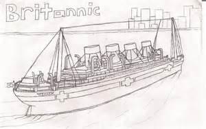 britannic sailing by dragonmaster616 on deviantart