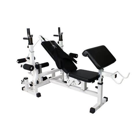Avis Banc De Musculation by Gorilla Sports Gs005 Avis Banc De Musculation Avec Support
