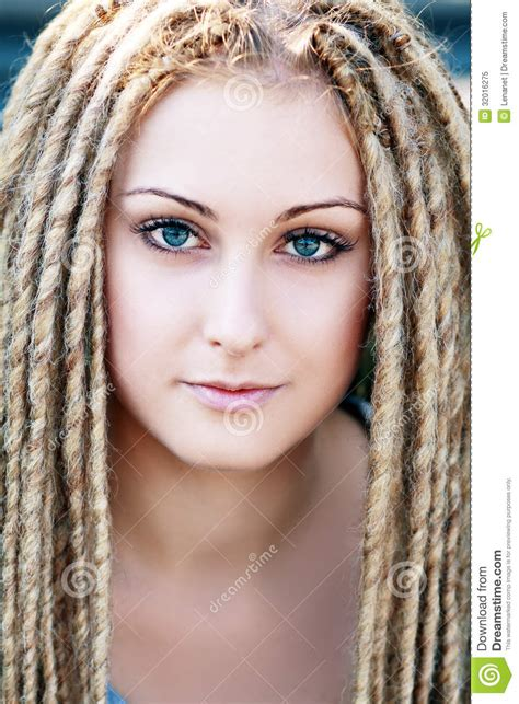 Hairstyle Photos Only Printer by Fashion Hairstyle With Dreads Stock Image Image Of
