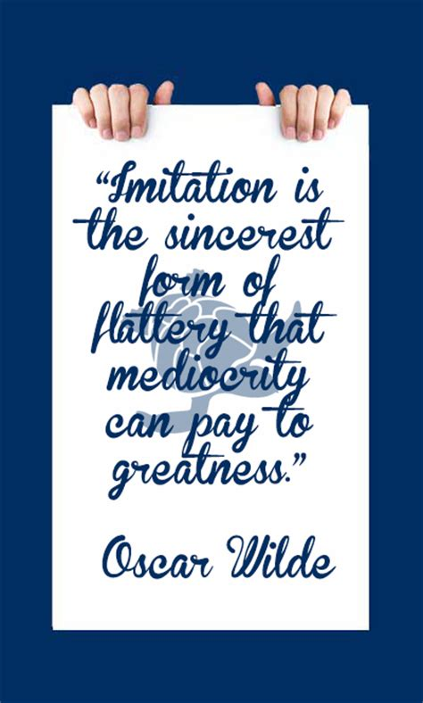 imitation quote by oscar wilde