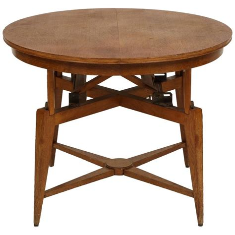Dining Table To Coffee Table Marcel Gascoin 1950s Convertible Coffee Centre Dining Table Mid Century For Sale At 1stdibs