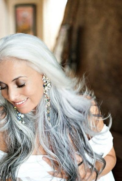 long hair that comes to a point 17 best images about gray over 50 hair on pinterest