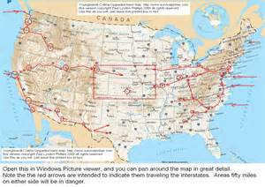 us road map with interstates on it interstate road map of usa