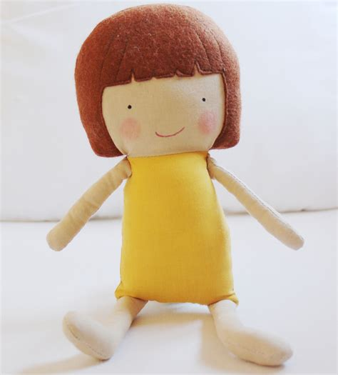 pattern sewing doll doll sewing pattern toy cloth doll pattern pdf saffron