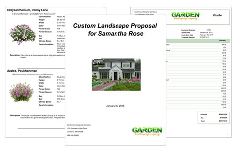 Landscaper Fees Bespecification