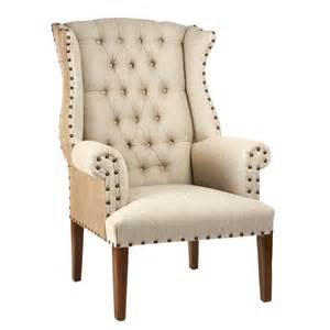 Good Wingback Dining Chair #1: Tufted%20_Wing%20_Chair.jpg