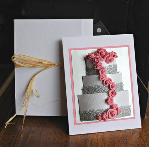 Creative Handmade Cards - birthday cards pink leaf design shop