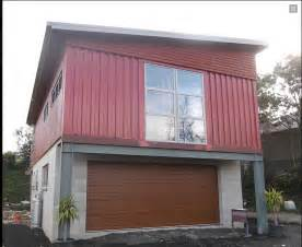 project shipping container garage builds and project