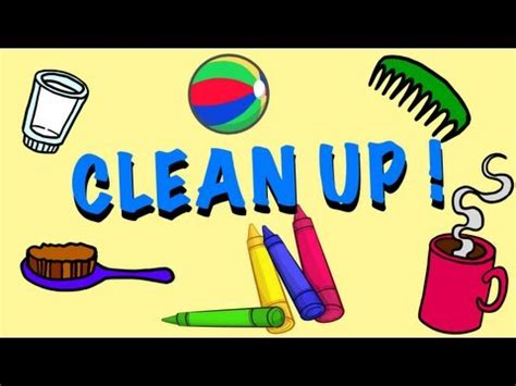 time for cleaning clean up song