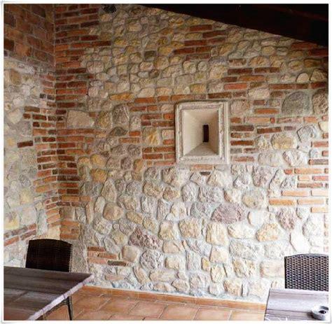naturstein klinker innen innenarchitektur k 252 hles wand stein innen wandverkleidung