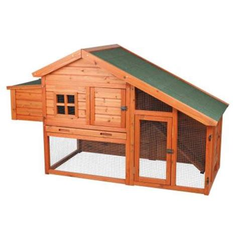 trixie chicken coop with a view 55962 the home depot