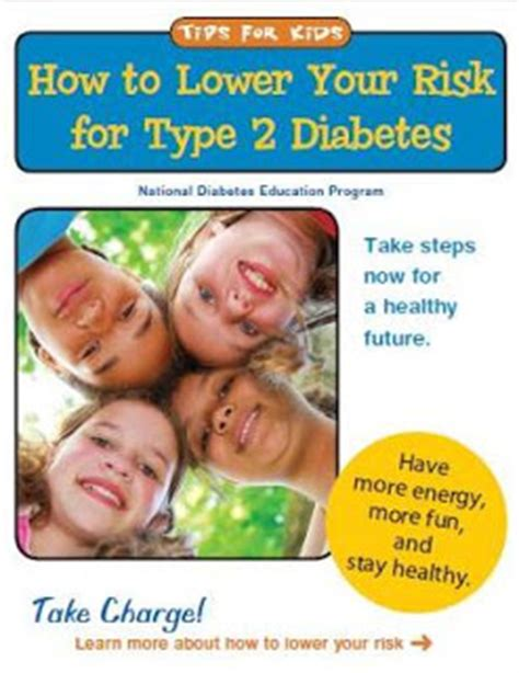 how can i reduce type 2 5ar health information brochures how to lower your risk for