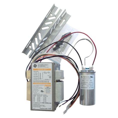 Ace Power Casing 400watt ge 120 to 277 volt electronic ballast for hi output 8 ft 2 l t12 fluorescent fixture