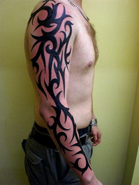 mens tribal sleeve tattoos designs tattoos for on arm names models picture