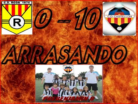 As Roda B cd castellon prebenjamin b 2011 12 cartel resultado roda