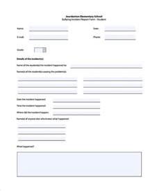 Incident Hazard Report Form Template by Hazard Report Form Template 13 Report Forms Free