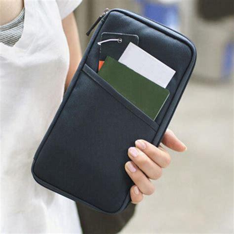 Diskon Card Id Holder Passport Wallet Organizer gethome 2016 new fashion travel passport credit id card holder wallet organizer bag purse