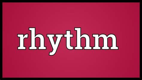 pattern meaning in rhythm rhythm meaning youtube