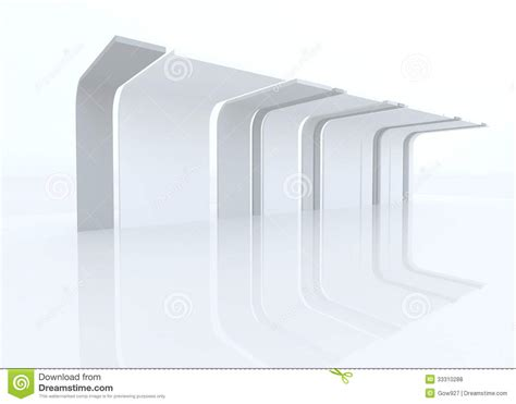 background design exhibition 3d exhibition design with eaves stock illustration image