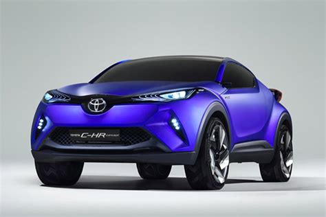 toyota teases new c hr concept crossover 95 octane