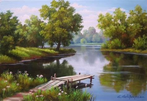 Lukisan Paintings Nature related keywords suggestions for lukisan alam