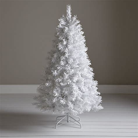 buy john lewis pre lit white flock christmas tree 5ft