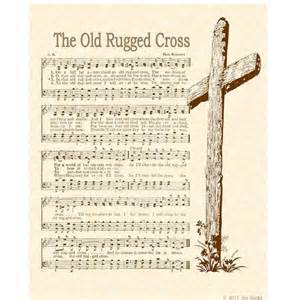 the crosses and hymn on