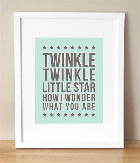 Twinkle Twinkle Little Star By Sugar Fresh Contemporary Twinkle Twinkle Nursery Decor