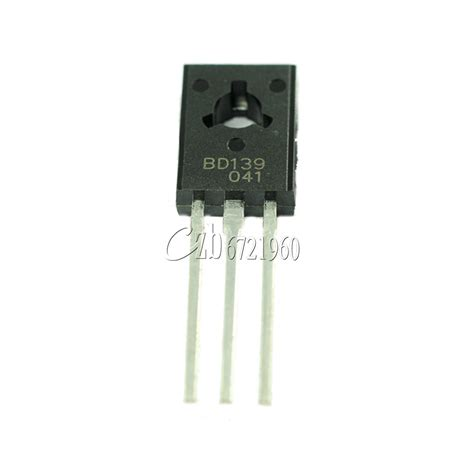 bd139 power transistor 20pcs bd139 to 126 npn 80v 1 5a power transistors
