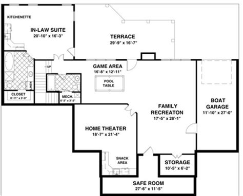 Small Home Theater Floor Plan Home Theatre Room Floor Plans