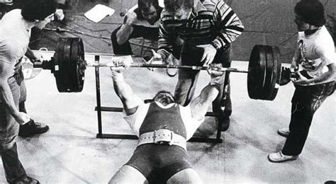 the bench press by bill kazmaier muscle and brawn